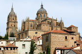 Rooftops and Cathedral of Salamanca, Spain — Stock Photo