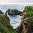 Stock Photo: Carrick-a-Rede - Antrim, Northern Ireland
