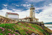 Lighthouse - Asturias, Spain — Foto de Stock