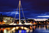 Samuel Beckett Bridge, Dublin, Ireland — Stock Photo