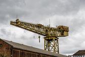 Cantilever crane, Glasgow — Stock Photo