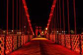 懸濁液橋、グラスゴー — ストック写真