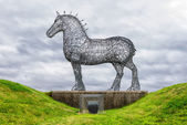 The Heavy Horse, Glasgow — Stock Photo