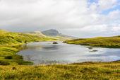 Storr landscape in Scotalnd — Stock Photo