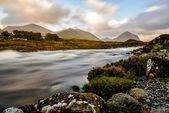 Montañas rocosas de cuillin, escocia, reino unido — Foto de Stock