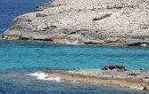 Paisagem na ilha de formentera — Fotografia Stock