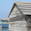 Building on the beach - Stock Photo