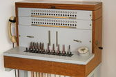 Old telephone exchange — Stock Photo