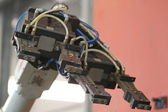 Elemento de um robô industrial — Foto Stock