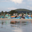 Stock Photo: Boats, Vietnamese boats fishermen