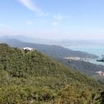 Landscape of the island — Stock Photo