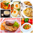 Stock Photo: Food collage