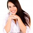 Happy woman smiling — Stock Photo #12533915
