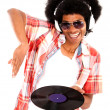 Happy DJ — Stock Photo