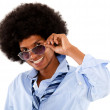 Chic afro man — Stock Photo #12625556