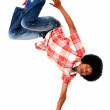 Man breakdancing - Stock Photo