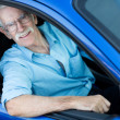 Man driving a car — Stock Photo #12759432