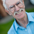 Retired man portrait — Stock Photo