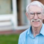 gepensioneerde man — Stockfoto