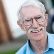 Happy old man  — Stockfoto