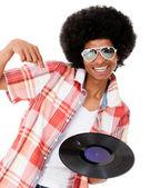 Happy DJ — Stok fotoğraf