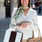 Female shopper — Stock Photo #12807882