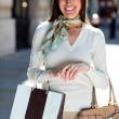 Female shopper — Stock Photo