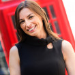 Business woman in London  — Stock Photo