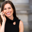 Stock Photo: Businesswoman on the phone