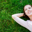 Beautiful woman relaxing — Stock Photo