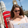 Stock Photo: Tourist in London