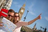 Tourists in London — Fotografia Stock