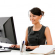 Businesswoman at the office — Stock Photo #12947489