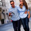 Couple sightseeing  — Stock fotografie #12947572