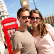 Couple in London — Stock Photo #13142866