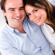 Cute affectionate couple — Stock Photo