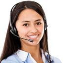 Medewerker van de klantenservice — Stockfoto