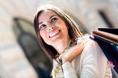 Cliente feminino — Fotografia Stock