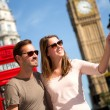 Couple in London — Stock Photo #13240958