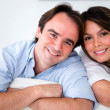 Beautiful couple portrait - Stock Photo