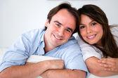 Beautiful couple portrait — Stock Photo