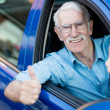 Man driving a car — Stock Photo #13258640