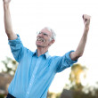 Successful senior man — Stock Photo