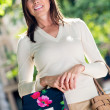 Stock Photo: Female shopper