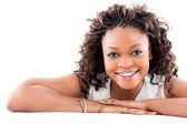 Hermosa mujer negra — Foto de Stock