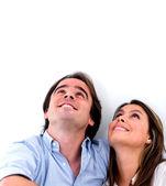 Thoughtful couple — Stock Photo