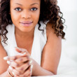 Stock Photo: Beautiful black woman
