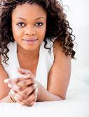 Beautiful black woman — Stock Photo