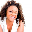 Happy woman laughing — Stock Photo #13347555