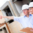Civil engineers working — Stock Photo #13495063